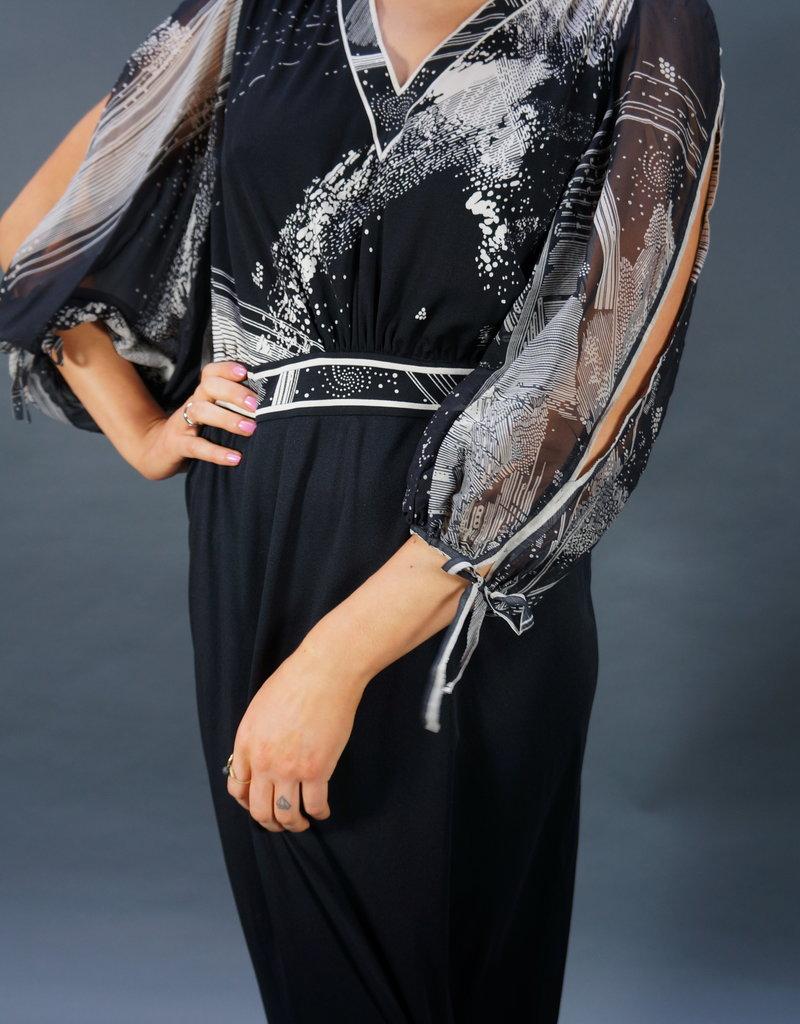 Leonard Paris Silk Dress