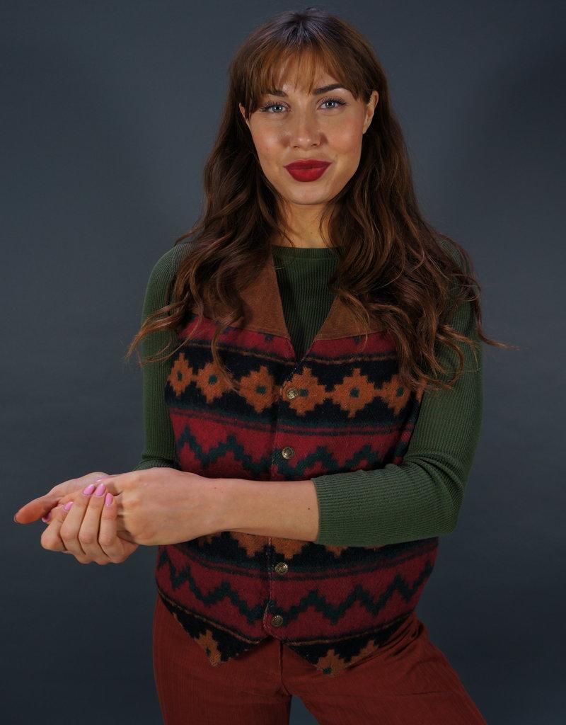 Civilian Clothing Wool Waistcoat