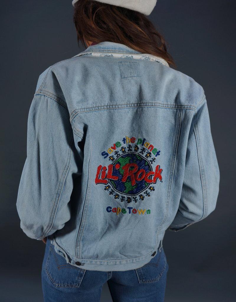 Hard Rock Cafe Lil' Rock Capetown Denim Jacket