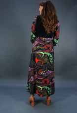 70s Psychedelic Maxi Dress