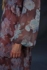 70s Solange Sheer Dress