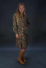 70s Autumn Leaves Dress