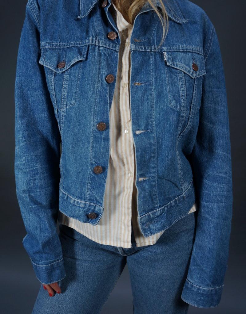 Levi's Jeans Jacket Big E