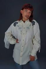 H Bar C California Ranchwear Fringe Shirt