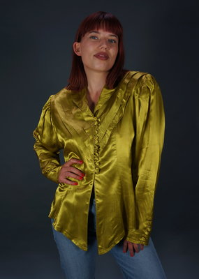 80s Goldy Blouse