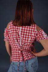 Off Shoulder Milkmaid Top