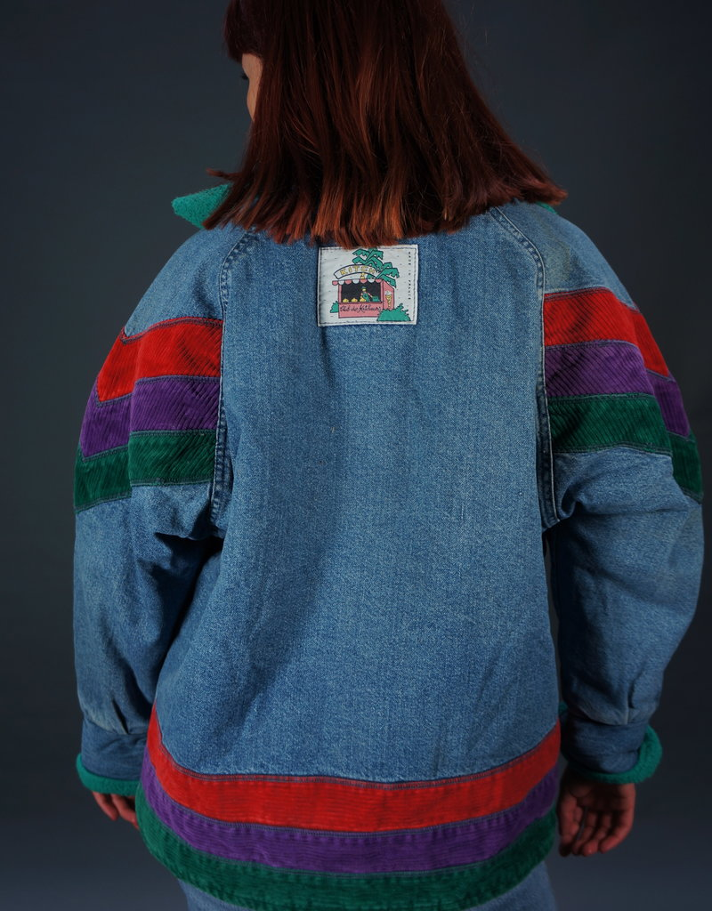 Jeans Jackets Cup Patch