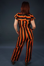 70s Off Shoulder Jumpsuit