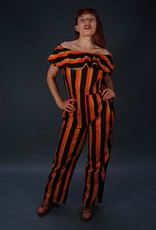70s Off Shoulder Jumpsuit