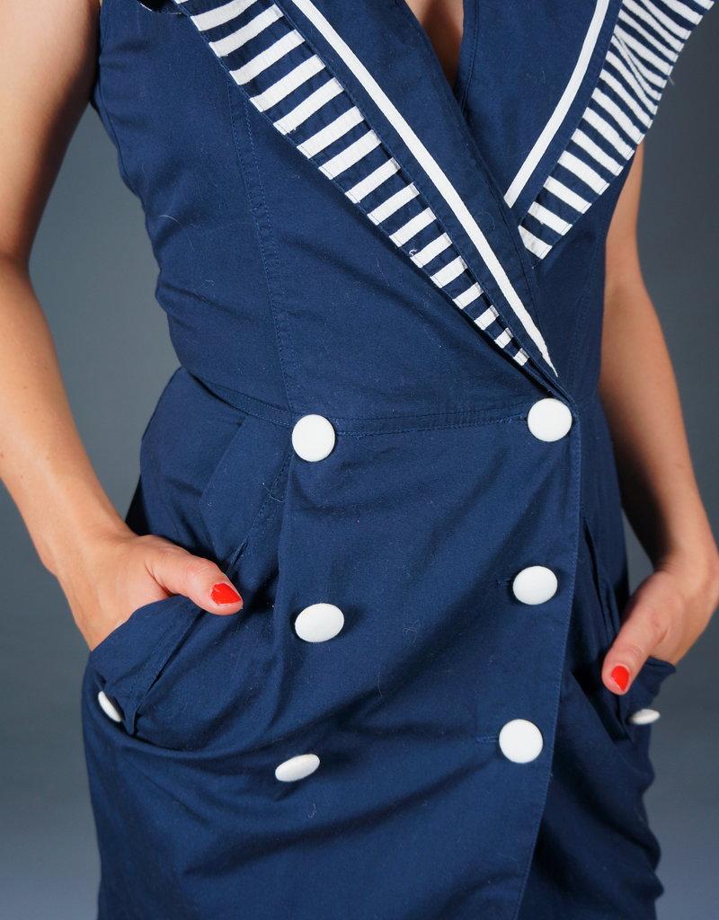 80s Sailor Dress