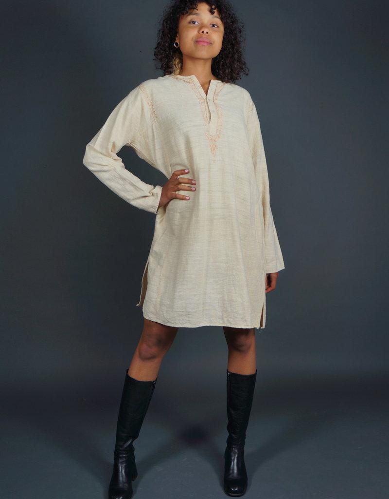 Cotton Cream Dress