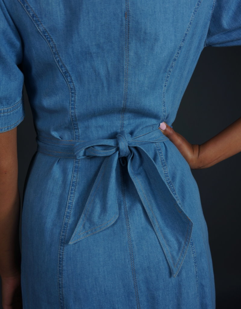 90s Jeans Dress Patch