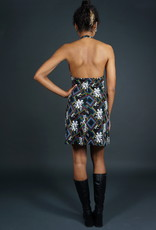 70s Halter Mini Dress