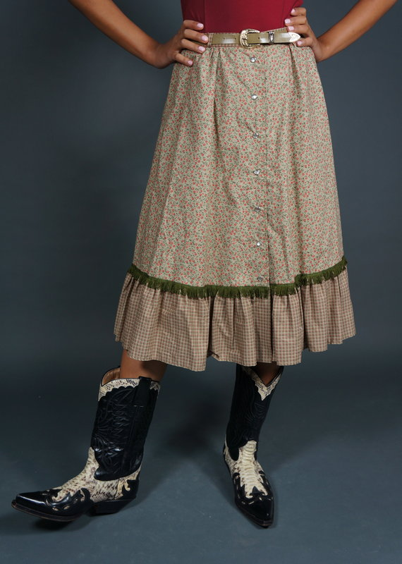 70s Stephanie Skirt with Belt