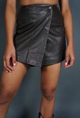 Yves Saint Laurent Leather Skirt