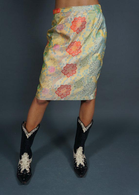 Christian Lacroix Silk Skirt