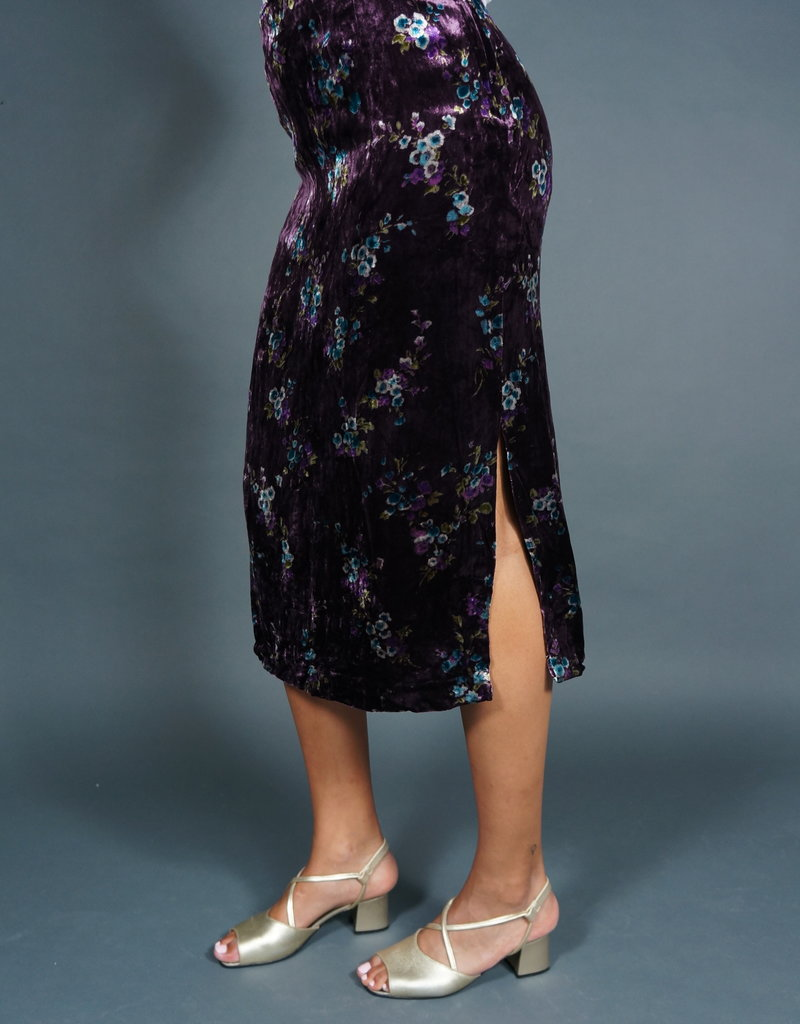 Cacharel Velvet Silk Skirt