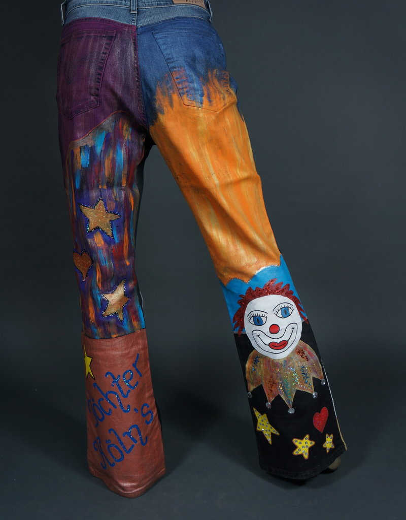 Magic Clown & Star Jeans