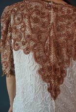 Sequin Silk Top