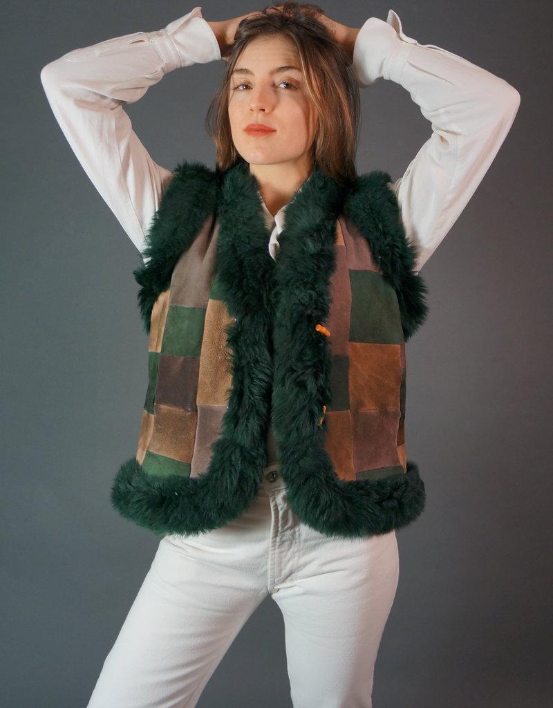 Suede Waist Coat