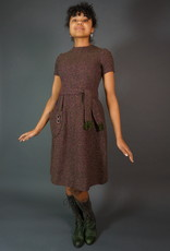 60s Knitted Winter Dress