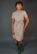 60s Plaid Dress