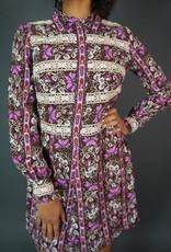70s Flower Dress Julia