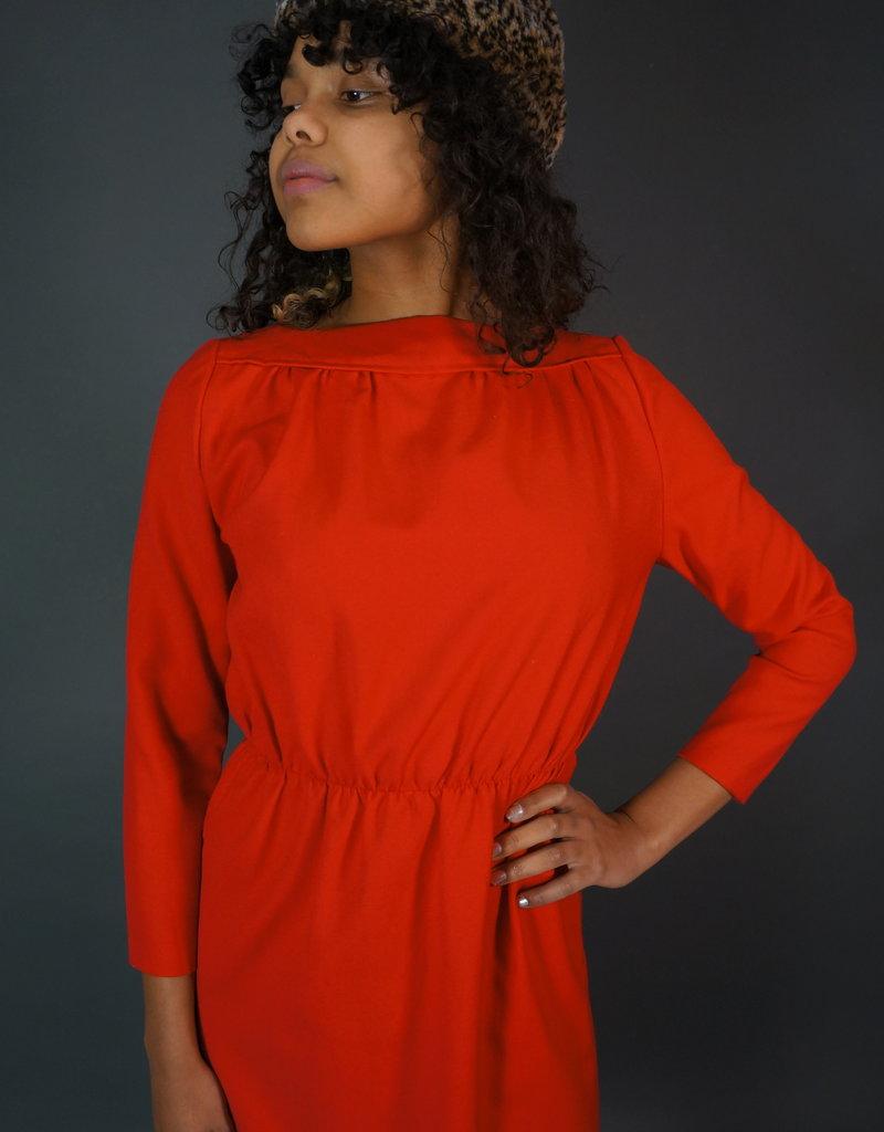 70s Dress Rose