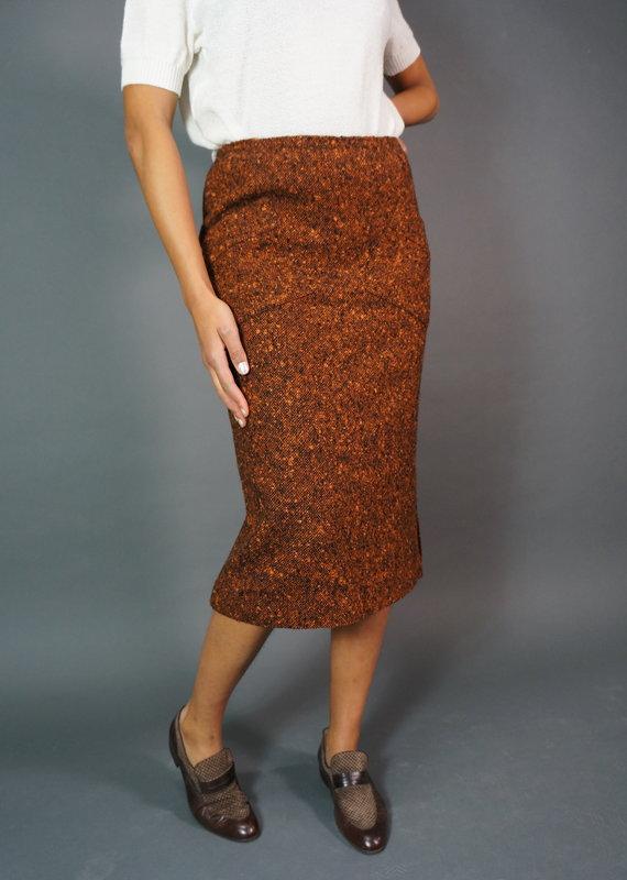 Pierre Balmain Knitted Skirt
