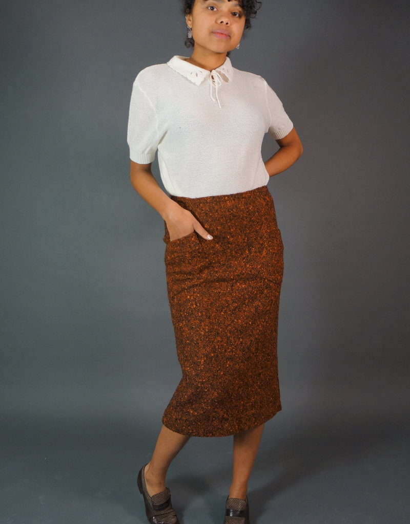 Pierre Balmain Knitted Skirt