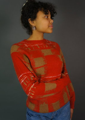 Cacharel Knitted Mohair Sweater