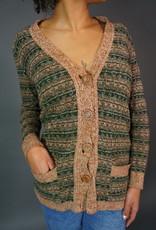 70s Rib Cardigan Bonnie