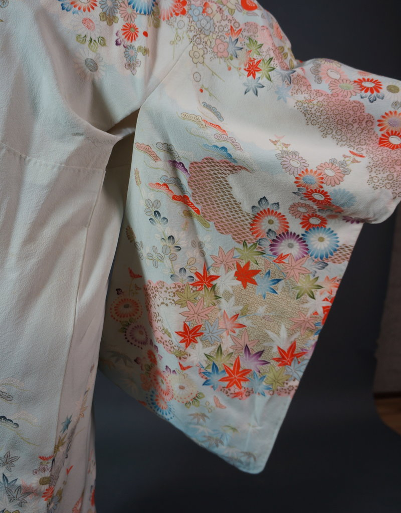 70s Japanese Kimono Hitomi