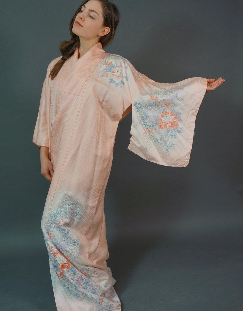 70s Japanese Kimono Isamu
