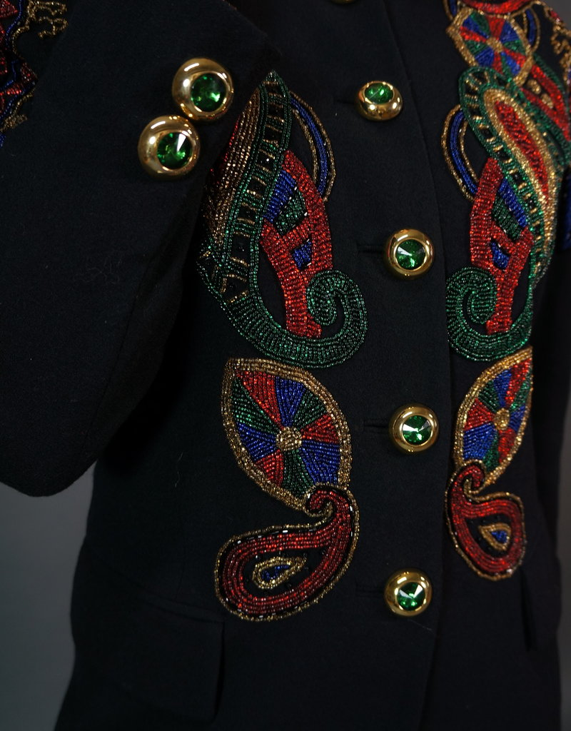 Embroidered 80's Blazer