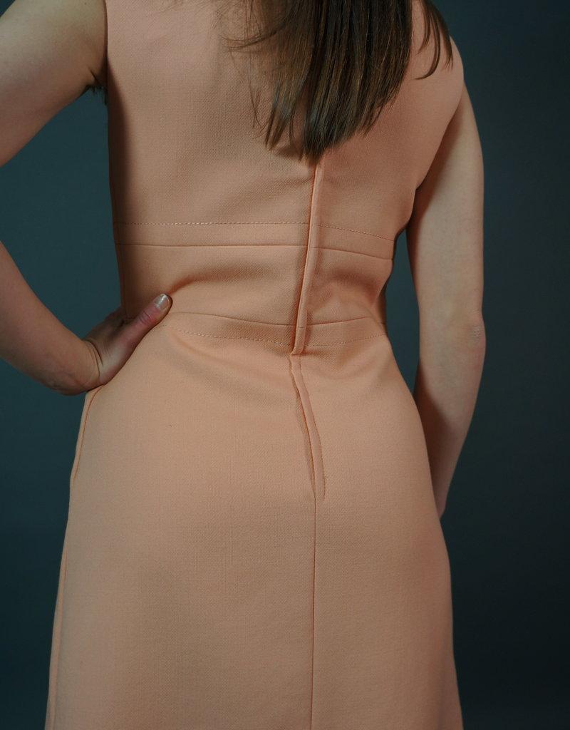 60s Dress Peachy Evie