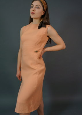 60s Dress Peachy Evie