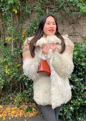 70s Mongolian Sheep Coat