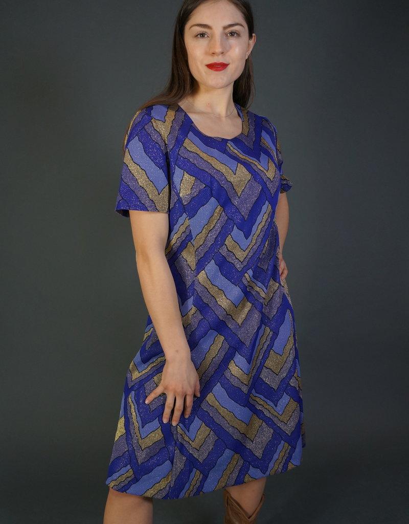 60s Glitter Dress Alba