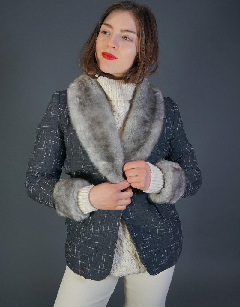 70s Fake Fur Blazer Erin