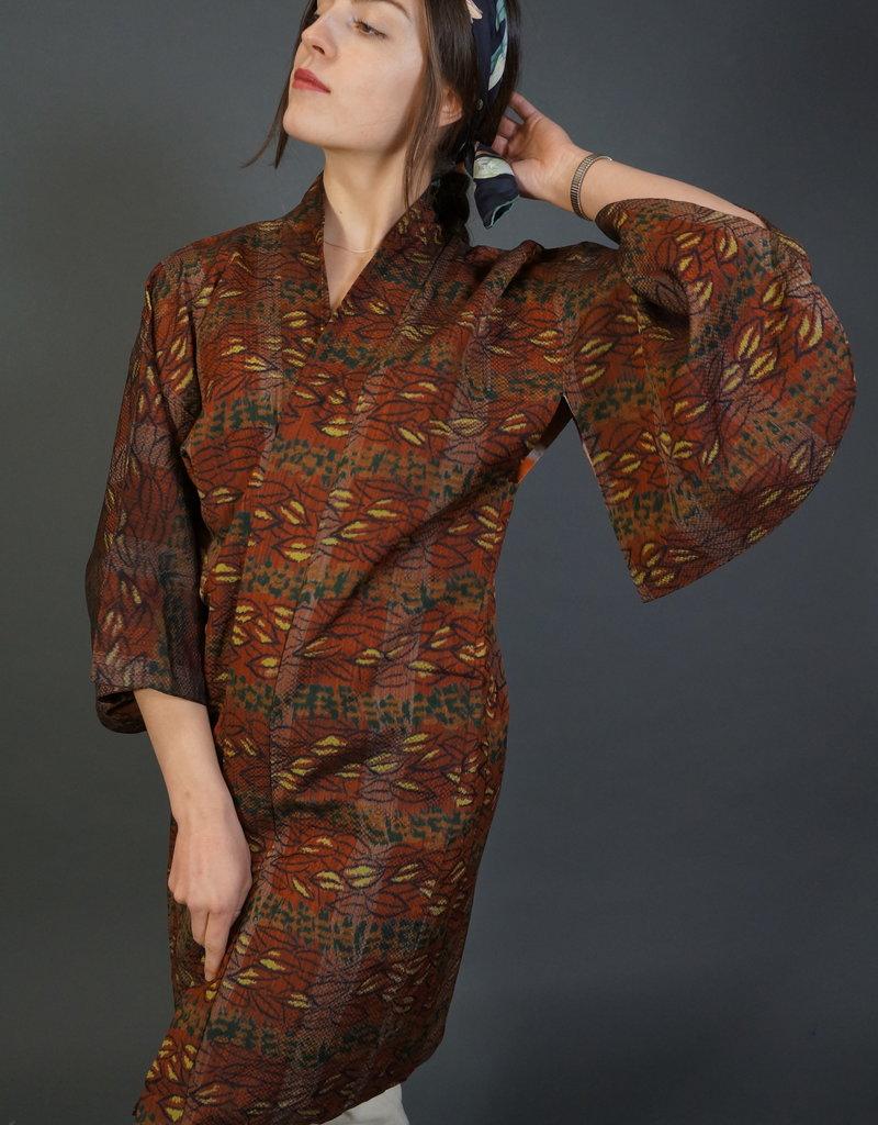 70s Japanese Haori Kurva