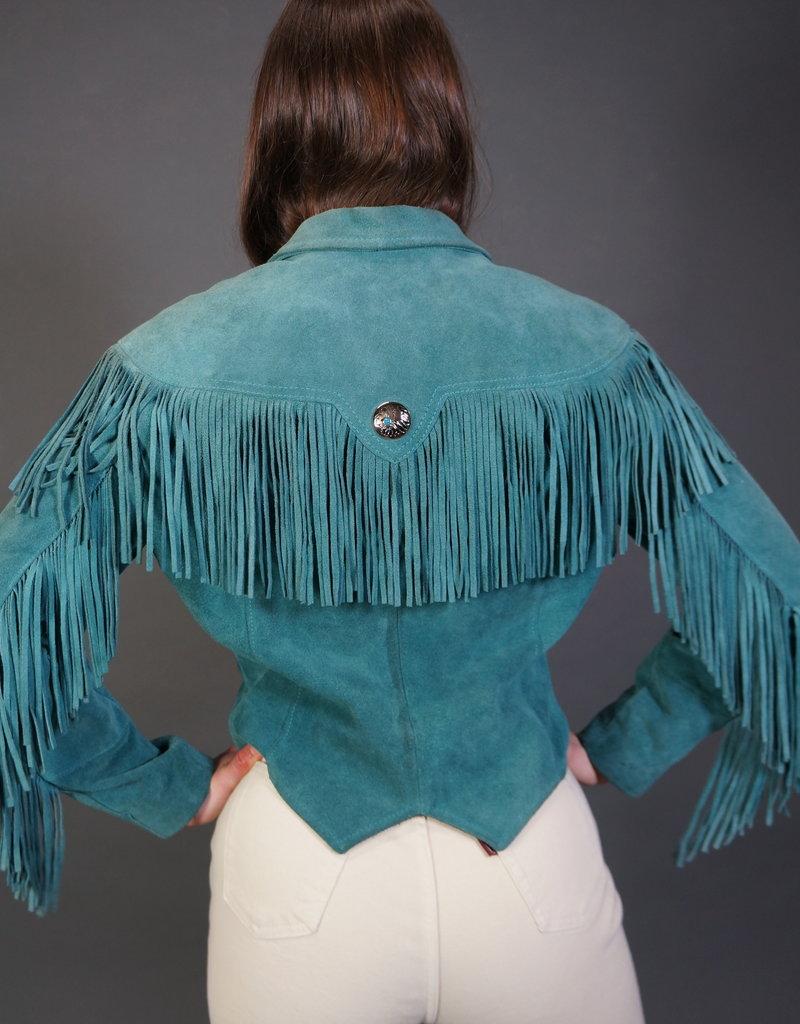 Pioneer Wear Fringe Leather Jacket