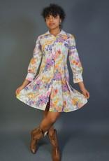 70s Flower Dress Abigail
