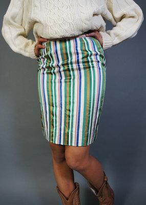 Christian Dior Striped Skirt