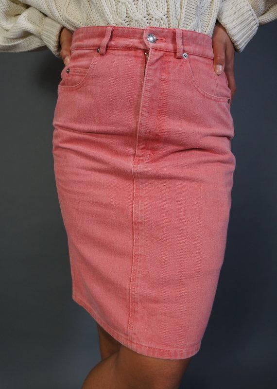 Jil Sander Jeans Skirt