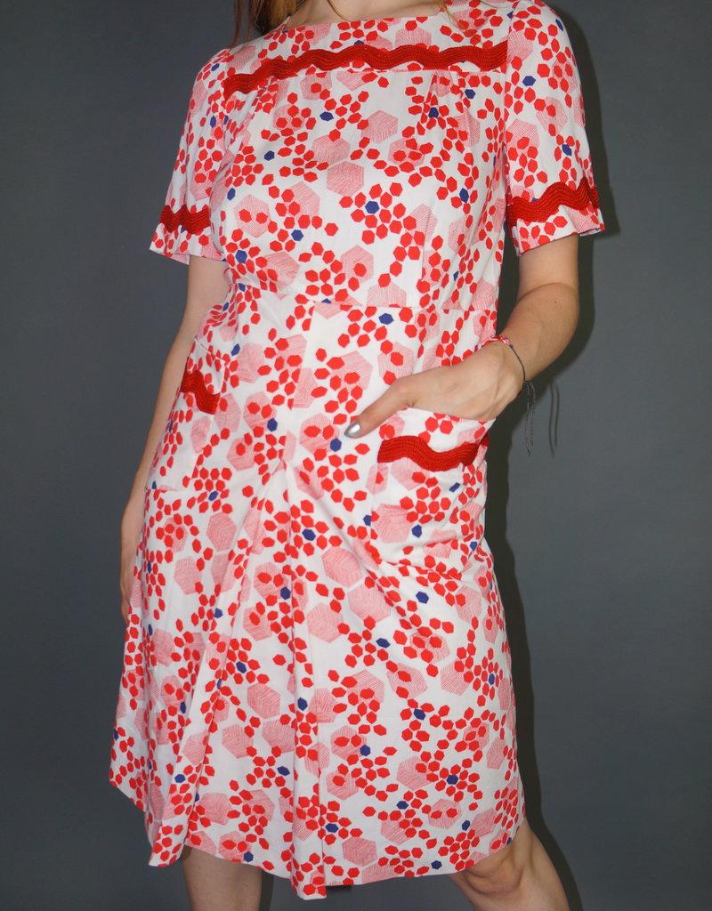 70's Hexagon Dress