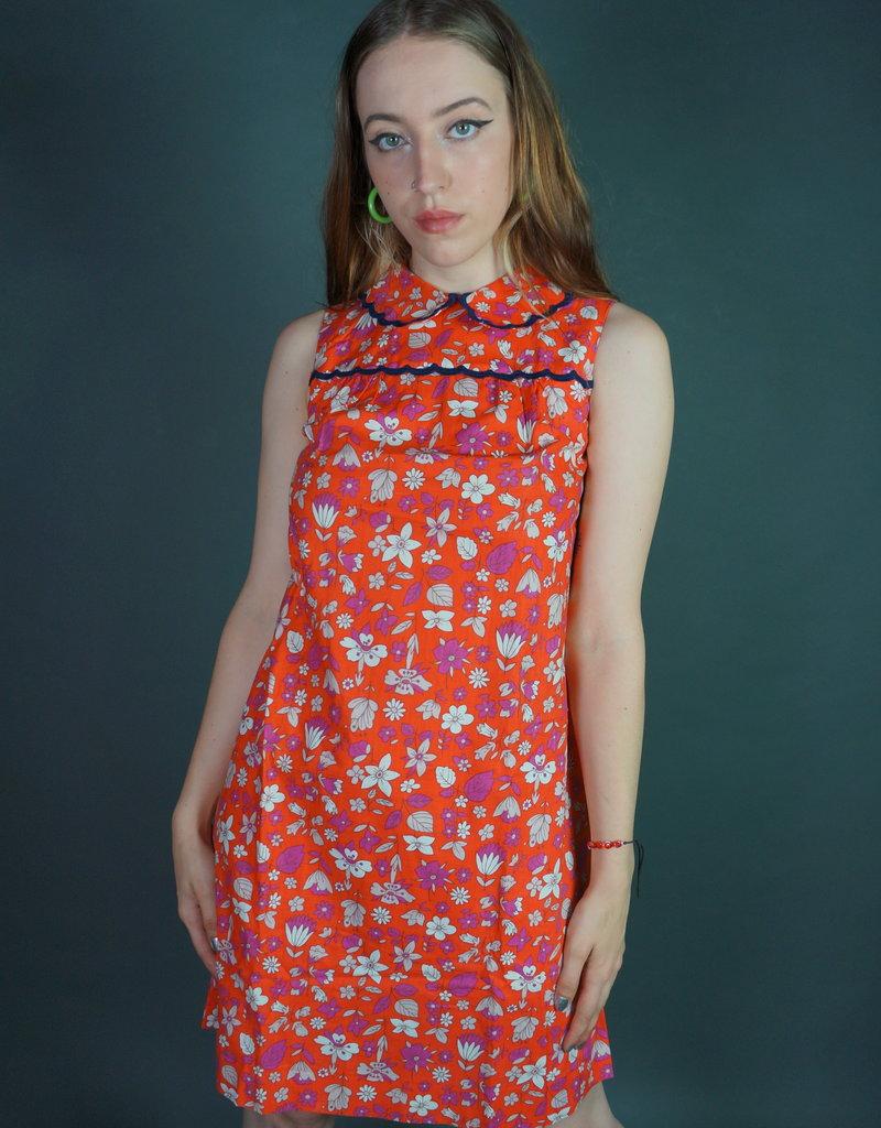 70's Flower Dress
