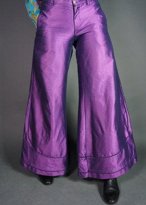 70's Ultra Violet Flare Pants