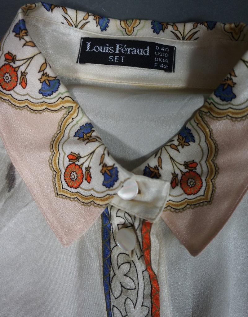 Louis Féraud Silk Blouse