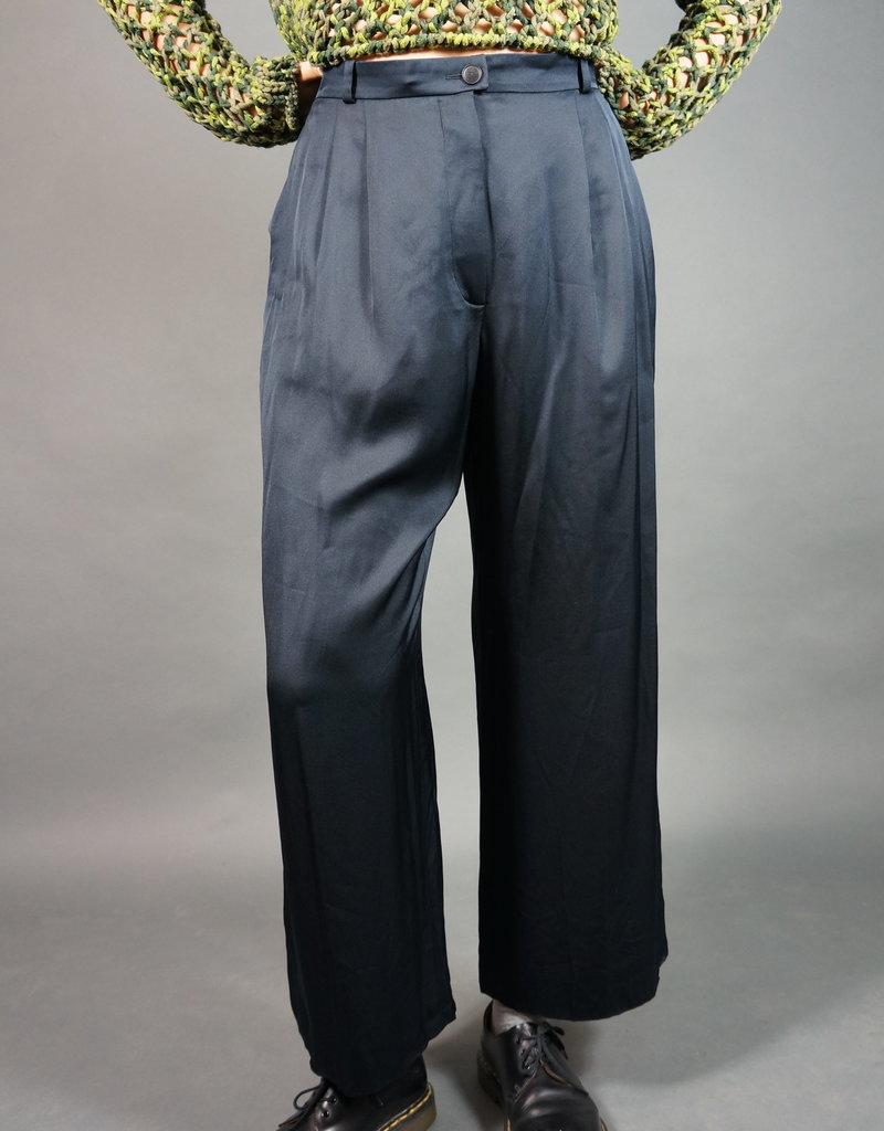 Chanel 100% Silk Pants